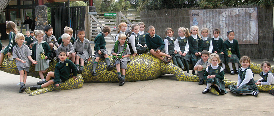 Visit to Auckland Zoo